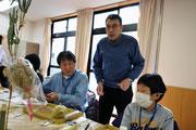講習会で指導する副会長・長島秀臣さん