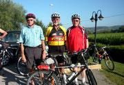 v. links: Ulrich Grosser (SVSW Kemnath), Karl Kick (TTC Eslarn), Werner Lustig (TSV Pressath)