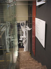 "Ausstellung ""decoupages"" in der Galerie ""Kunst an der Treppe"", April, Mai 2006"