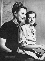 Irene and daughter Mary Frances