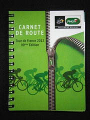 Carnet de route PMU Tour de France 2012