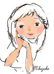 イラストの女の子ちょっと描いてみたよ