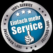 Unsere Garantien für Sie: 100% Oualität, 100% Kompetenz, 100% Top Service.