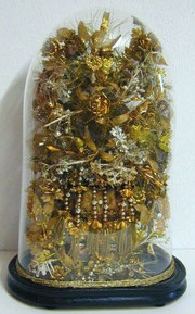 Un globe de noce d'or