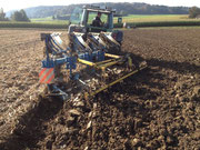 Bodenbearbeitung mit Lemkenflug und Schollenkräcker