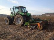Bodenbearbeitung mit der Scheibenegge Ammazone Catros