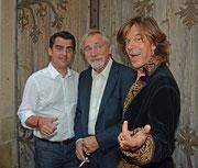 Christian Gepp, Peter Rapp und Jürgen Drews
