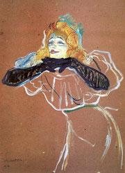 Henri de Toulouse-Lautrec. Yvette Guibert singt. 1894