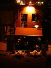 アクロポール前のレストラン