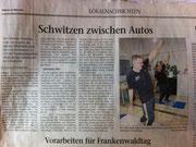 Zeitungsfund Pech und Riedelbauch