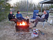 """Laredo, """"Lake Casa Blanca International State Park"""", Campground - mit Tom und Susan"""