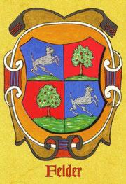 Wappen der Familie Felder
