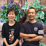 店長と妻のプロフィール