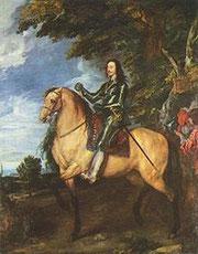 Carlo I a cavallo - Van Dyck