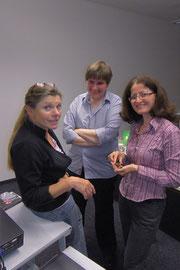 Anita Idel, Sigrid Alexander und Frouzan Nasab, 2013