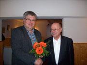 TLM Udo Kemnitz gratuliert dem neuen Innungsobermeister TLM Matthias Jordan