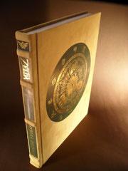 Zelda Ledereinband Sammlerausgabe Collector's Edition Unikat