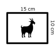 Coupons de cuir de chèvre