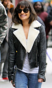 Lea Michelle leather jacket