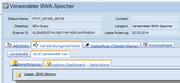 SAP-BO Dashboard - Verwendungsnachweis BEx-Query