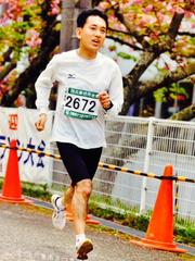 兵庫県穴栗市さつきマラソン