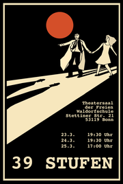 Plakat 12. Klass-Spiel