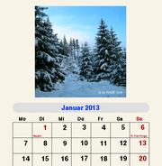 GeoWrite Fotokalender 2013