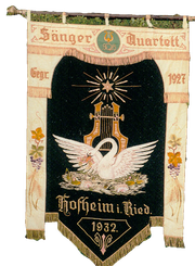 Fahne Sängerquartett