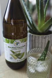 Detoxing mit Bio Aloe Vera Saft