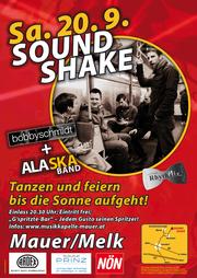 Plakat SoundShake 2014