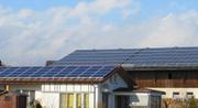 Photovoltaikanlage auf Wohnhaus und Scheune