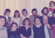 Hanne (Mitte) 1978 als Leiterin einer Erziehungsberatung mit ihrem Team