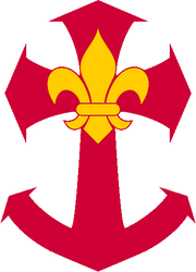 Armoiries marines de l'association des aventuriers de Baden-Powell