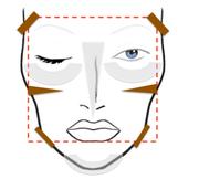 Peinado y Maquillaje de Novia para Rostro Cuadrado