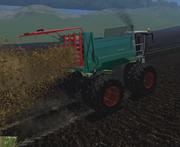 FS15 Farmtech Kompost und Mist Streuer