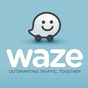 Waze GPS Android et iOS Logo
