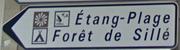 Signalétique © Office de Tourisme de Sillé le Guillaume