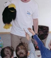 NABU zu Besuch im Kindergarten