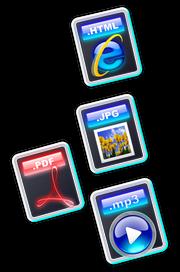 Dokumen web boleh mengandungi berbagai macam kandungan