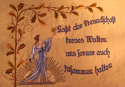 Kirmesflagge 1929/1932