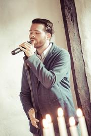 Sänger Fabian Schmelcher