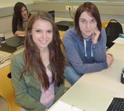 Die Website wurde erstellt von Bettina Gaber und Melanie Vallant (v. l.)