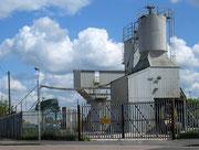 Cement factory on Garretts Green industrial estate