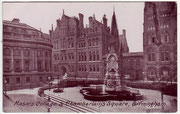 Chamberlain Square - image from Our Past History website - see Acknowledgements for a link to that site.