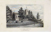 St Peter's Church, Harborne from Thomas Dugdale 1854 Curiosities of Great Britain: England & Wales Delineated, Historical, Entertaining & Commercial, Alphabetically Arranged