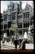 Mason College, Edmund Street, photograph taken in 1960. Photograph by Phyllis Nicklin - See Acknowledgements - Keith Berry.