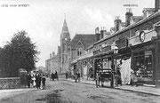 Postcard of Harborne High Street 1904
