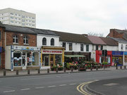 Shops on the Birmingham Road