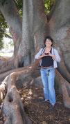 dicker Baum, kleine Gaby