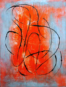 Dynamisch, 2017, Acryl auf Leinwand, BxH 58x75 cm